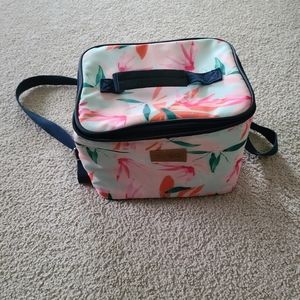 Insulated floral lunchbox